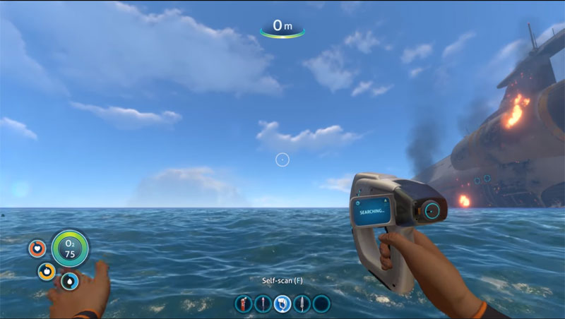 How to beat Subnautica stage one