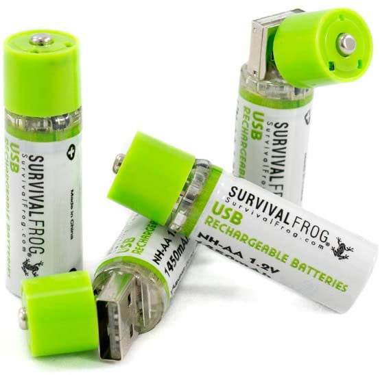 AA Rechargeable battery for controller