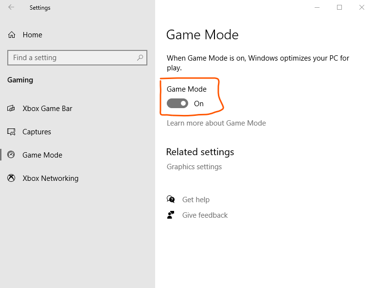 upgrade your laptop for Gaming by enabling game mode